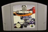 Nintendo 64 (N64): F-1 World Grand Prix - Cart Only